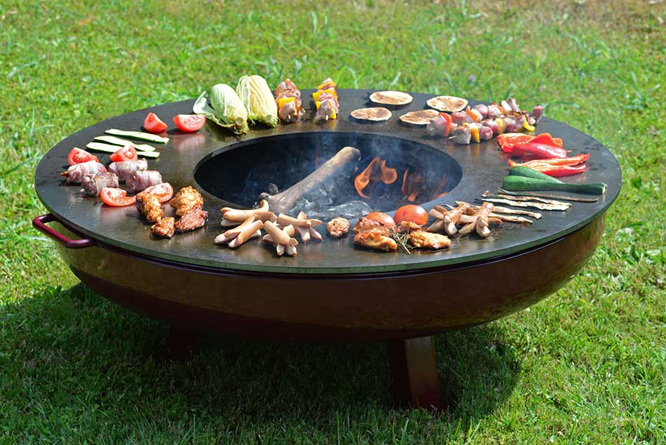 outdoor - garden barbeque with friends