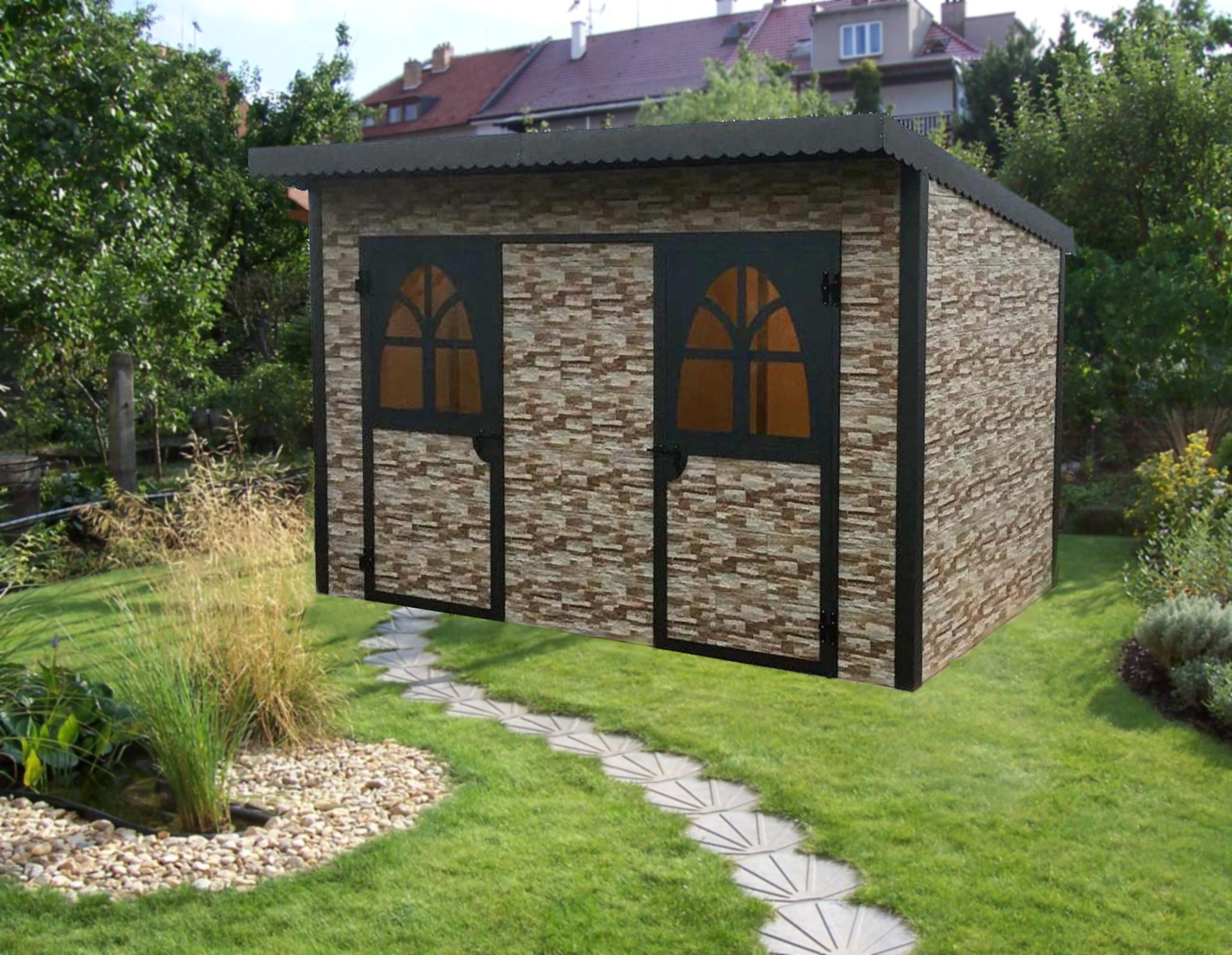 Casette in legno per il giardino